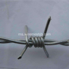Galvanized Barbed Wire Double Strand Twist Twist